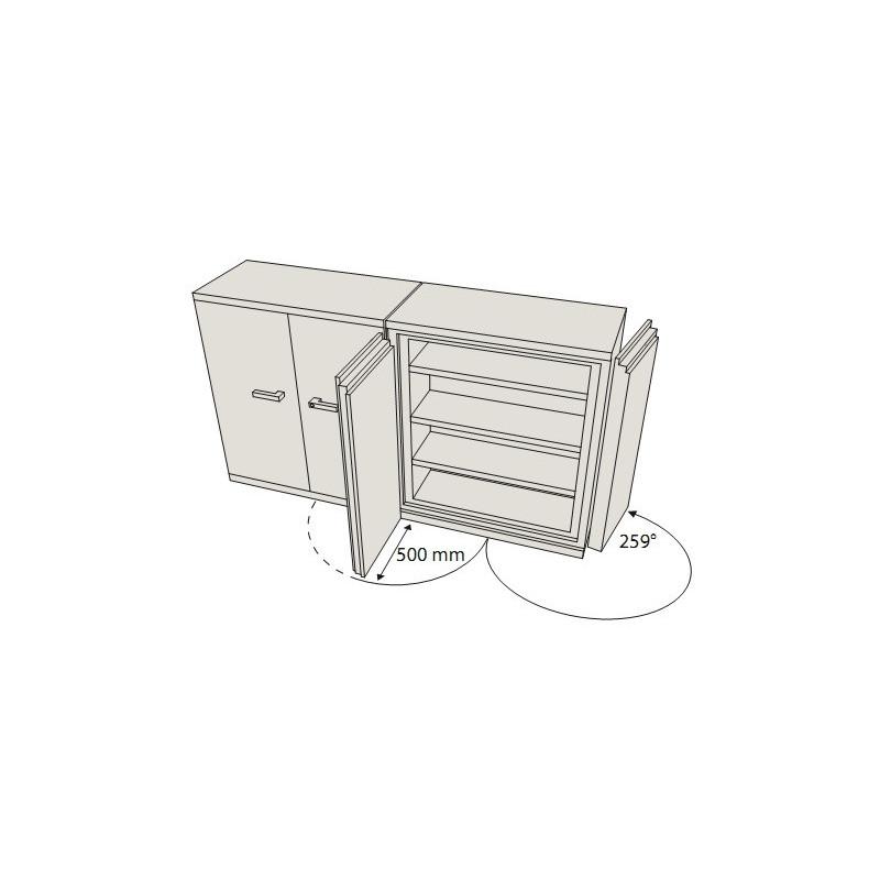 armoire a papier armoire avec du papier peint with. Black Bedroom Furniture Sets. Home Design Ideas