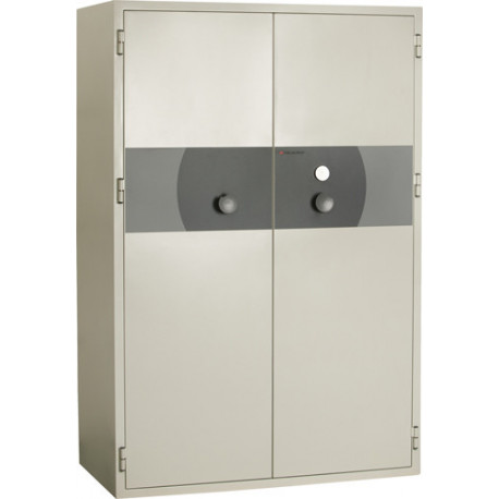 PK 480 Papier - armoire forte ignifuge 2 portes pour la protection contre le feu et le vol.
