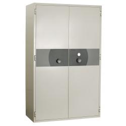 PK 490 Papier - armoire forte ignifuge 2 portes pour la protection contre le feu et le vol.
