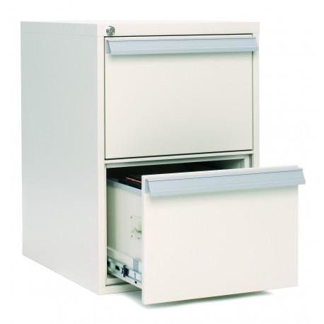 SV 22 classeur vertical ignifuge 2 tiroirs 2 heures.